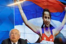 Presidente do Comitê Paralímpico Russo, Vladimir Lukin, durante evento em Moscou.     07/08/2016       REUTERS/Maxim Zmeyev