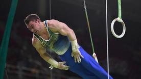 Ginasta brasileiro Arthur Zanetti durante Jogos Rio 2016 06/08/2016 REUTERS/Dylan Martinez