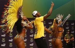 Usain Bolt durante evento no Rio de Janeiro.    08/08/2016       REUTERS/Nacho Doce