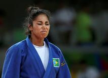 Mariana, na disputa pelo bronze, que perdeu 09/08/2016 REUTERS/Toru Hanai