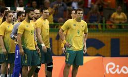 Equipe de handebol  09/08/2016 REUTERS/Marko Djurica