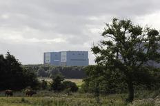 Le site de Hinkley Point. Bouygues et Vallourec ont démenti mercredi que leurs administrateurs siégeant aussi au conseil d'EDF se trouvaient en conflit d'intérêt lors du vote en faveur du projet de réacteurs nucléaires d'Hinkley Point au Royaume-Uni. /Photo prise le 3 août 2016/REUTERS/Darren Staples