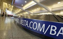 The Delta baggage area of the terminal is empty after Delta Air Lines' computer systems crashed on Monday, grounding flights around the globe, at Hartsfield Jackson Atlanta International Airport in Atlanta, Georgia, U.S. August 8, 2016.  REUTERS/Tami Chappell