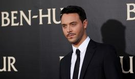 "Cast member Jack Huston poses at the premiere for the movie ""Ben-Hur"" at TCL Chinese theatre in Hollywood, California U.S., August 16, 2016.   REUTERS/Mario Anzuoni"