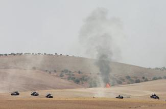 Turkish forces enter Syria