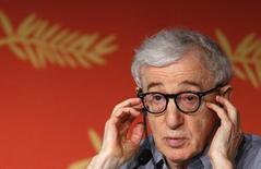 "Woody Allen concede entrevista sobre ""Café Society"" em Cannes. 11/5/2016. REUTERS/Yves Herman"