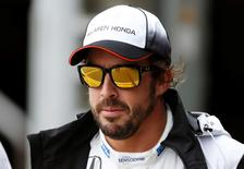 Britain Formula One - F1 - British Grand Prix 2016 - Silverstone, England - 9/7/16 McLaren's Fernando Alonso after qualifying Reuters / Andrew Boyers Livepic