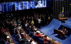 Sessão de julgamento de impeachment de Dilma no Senado  29/8/2016 REUTERS/Ueslei Marcelino