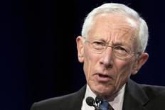 Vice-chair do Fed, Stanley Fischer, em Nova York. 23/03/2015 REUTERS/Brendan McDermid