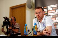 Atacante Wayne Rooney durante entrevista coletiva.   30/08/2016    Action Images via Reuters / Carl Recine Livepic