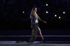 Gisele Bundchen participa de cerimônia de abertura dos Jogos Rio 2016.  05/08/2016.  REUTERS/Stefan Wermuth