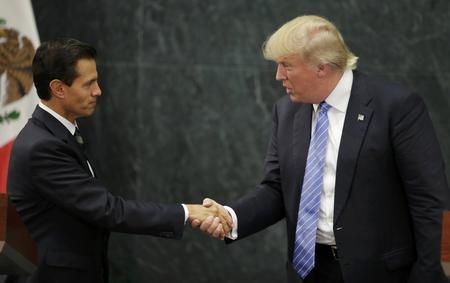 U.S. Republican presidential nominee Donald Trump and Mexico