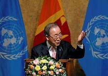 U.N. chief urges Sri Lanka to redress wrongs of war