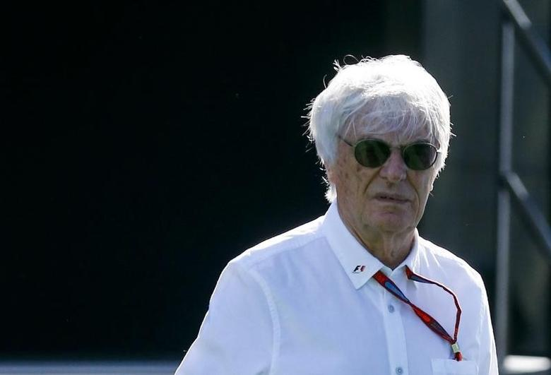 Germany Formula One - F1 - German Grand Prix 2016 - Hockenheimring, Germany - 30/7/16 - President and CEO of Formula One Management Bernie Ecclestone before practice. REUTERS/Ralph Orlowski