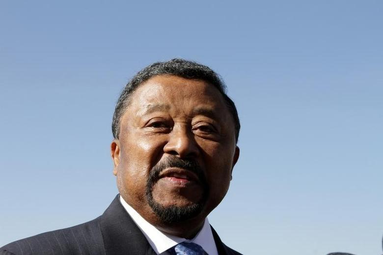African Union Commission chairman Jean Ping arrives for the 18th African Union (AU) Summit in the Ethiopia's capital Addis Ababa, January 29, 2012.   REUTERS/Noor Khamis/Files