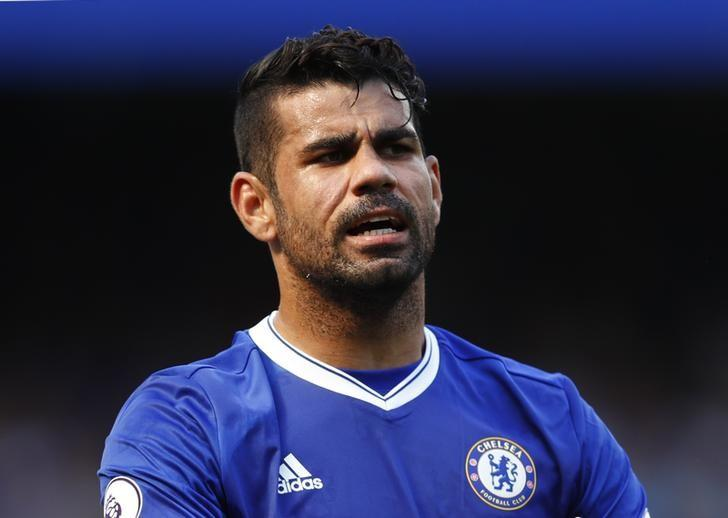 Football Soccer Britain - Chelsea v Burnley - Premier League - Stamford Bridge - 16/17 - 27/8/16Chelsea's Diego Costa Reuters / Eddie Keogh