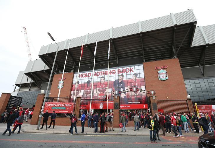 Football - Liverpool v Norwich City - Barclays Premier League - Anfield - 20/9/15General view outside the ground before the gameAction Images via Reuters / Alex Morton/ File PhotoLivepic