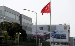 Oyak-Renault, filiale turque du consructeur français, commencera la production de la Megane avec un investissement de 200 millions d'euros à la clé. /Photo d'archives/REUTERS/Murad Sezer