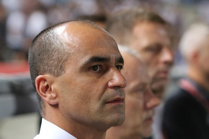 Football Soccer - Cyprus v Belgium - 2018 World Cup Qualifying European Zone - Group H - GSP Stadium, Nicosia, Cyprus- 6/9/16 Belgium's Spanish head coach Roberto Martinez is seen before the game against Cyprus. REUTERS/Yiannis Kourtoglou