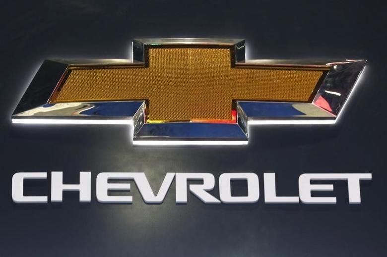 The logo of Chevrolet is pictured at at the 37th Bangkok International Motor Show in Bangkok, Thailand, March 22, 2016.  REUTERS/Chaiwat Subprasom