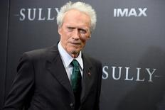 "Director Clint Eastwood attends the New York premiere of the film ""Sully"" in Manhattan, New York, U.S., September 6, 2016. REUTERS/Darren Ornitz"