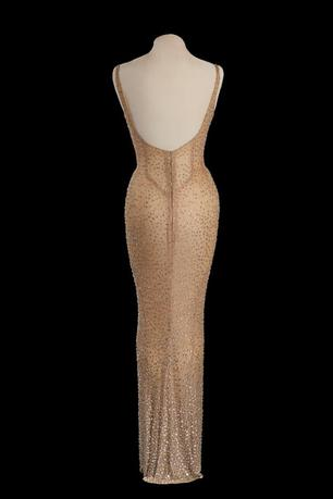 Happy Birthday Mr. President Marilyn Monroe Dress is pictured in this photo provided by Julien's Auctions. Julien's Auctions/Handout via REUTERS