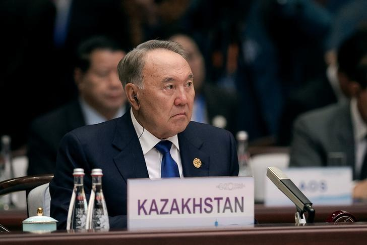 Kazakhstan's President Nursultan Nazarbayev attends the opening ceremony of the G20 Summit in Hangzhou, China, September 4, 2016. REUTERS/Nicolas Asfonri/Pool