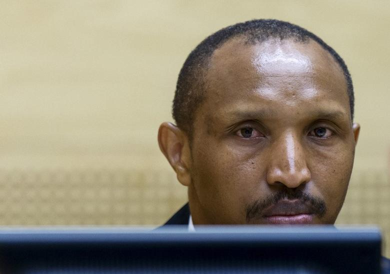 Congolese militia leader Bosco Ntaganda sits in the courtroom of the ICC (International Criminal Court) during the first day of his trial at the Hague in the Netherlands September 2, 2015. REUTERS/Michael Kooren