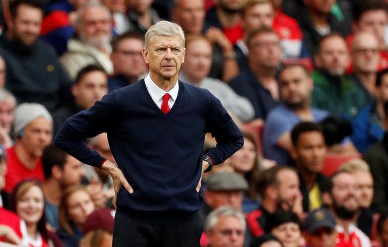 Britain Soccer Football - Arsenal v Southampton - Premier League - Emirates Stadium - 10/9/16. Arsenal manager Arsene Wenger. Action Images via Reuters / John SibleyLivepic