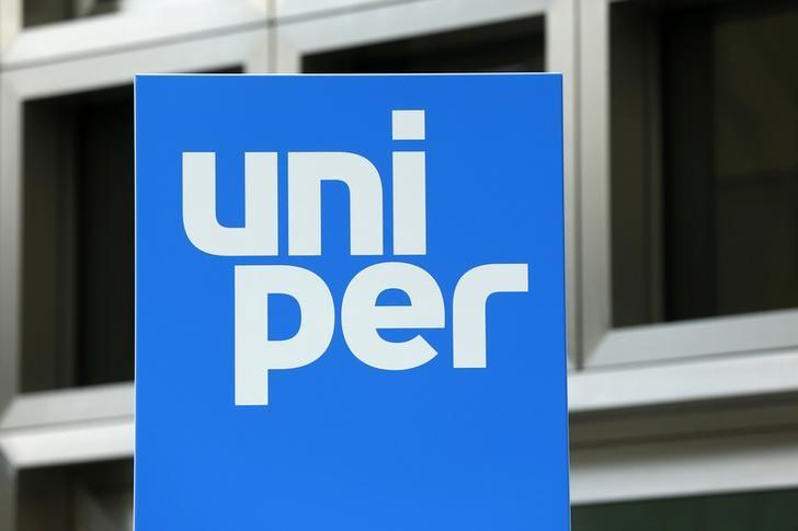 A logo of the German energy utility company Uniper SE is pictured at their headquarters in Duesseldorf, Germany April 19, 2016.  REUTERS/Ralph Orlowski
