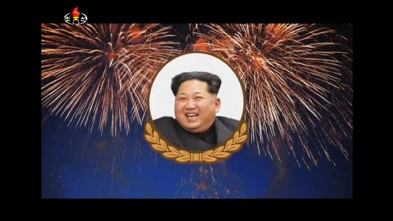 North Korea's Kim Jong Un, shown in an image released by North Korea's state-run KRT television service on September 9, 2016. North Korea conducted its fifth nuclear test on the same day. KRT/via Reuters