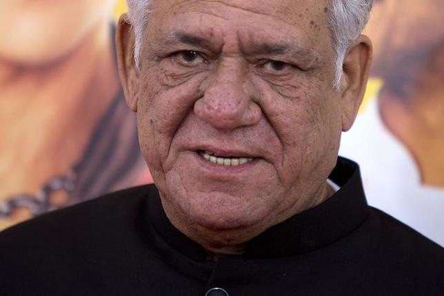 Actor Om Puri arrives for the world premiere of the film 'The Hundred-Foot Journey' in the Manhattan borough of New York August 4, 2014. REUTERS/Carlo Allegri/File Photo