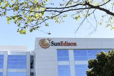 The headquarters of SunEdison is shown in Belmont, California  April 6, 2016. REUTERS/Noah Berger