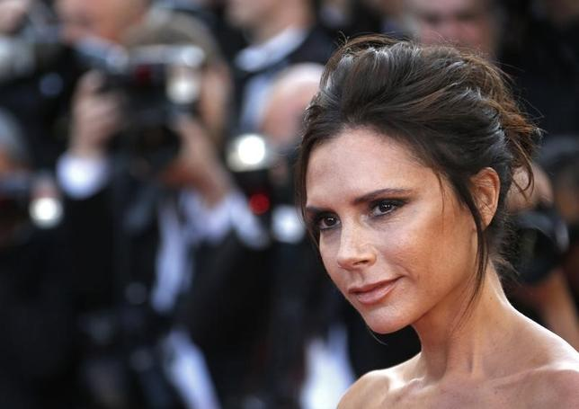 Victoria Beckham  in Cannes, France, May 11, 2016.   REUTERS/Yves Herman
