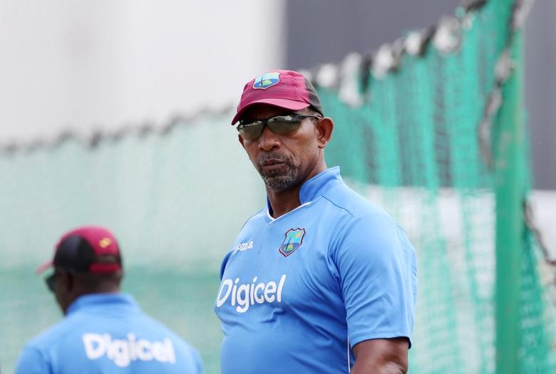 Cricket - West Indies Nets - Kensington Oval, Barbados - 28/4/15West Indies head coach Phil Simmons during netsAction Images via Reuters / Jason O'BrienLivepic