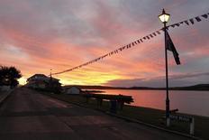 Cidade de Stanley, Ilhas Malvinas.    13/06/2012          REUTERS/Enrique Marcarian