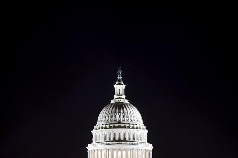 The U.S. Capitol dome in Washington.    REUTERS/Jonathan Ernst