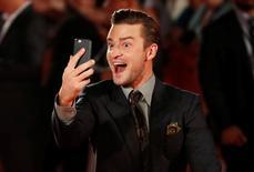 Timberlake no tapete vermelho em Toronto. 13/9/2016.    REUTERS/Mark Blinch