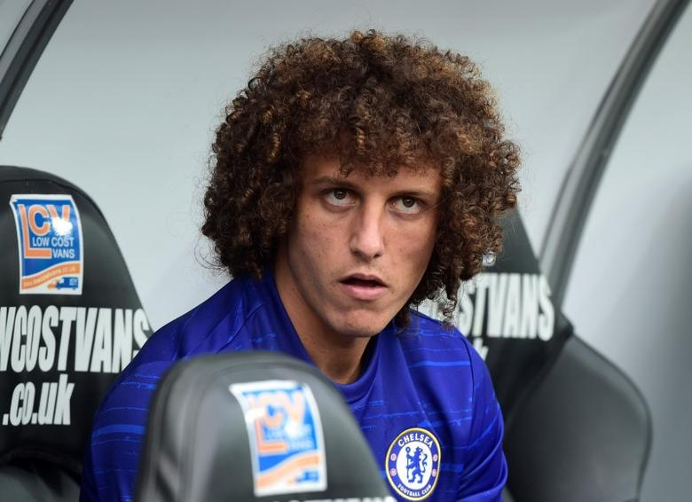 Britain Soccer Football - Swansea City v Chelsea - Premier League - Liberty Stadium - 11/9/16Chelsea's David Luiz on the bench before the matchReuters / Rebecca NadenLivepic
