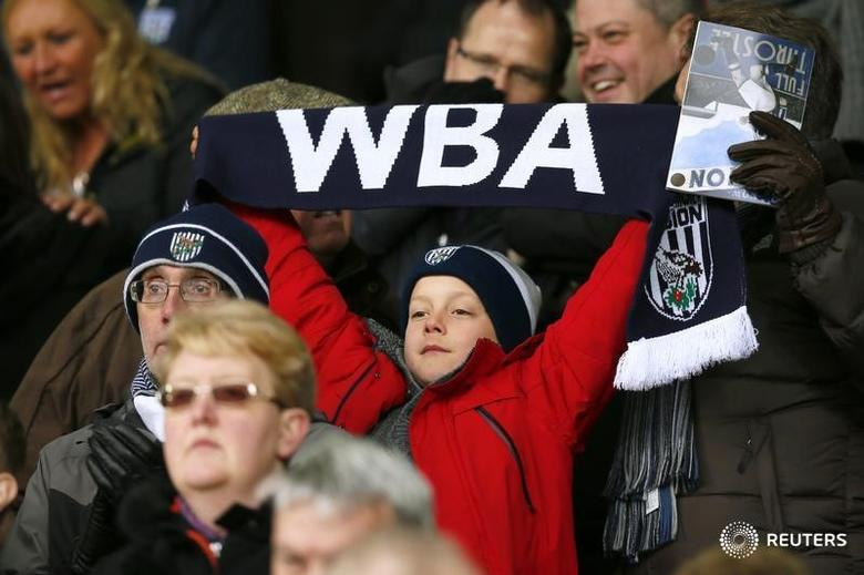 Football Soccer - West Bromwich Albion v Norwich City - Barclays Premier League - The Hawthorns - 19/3/16West Brom fans Mandatory Credit: Action Images / Jason CairnduffLivepic