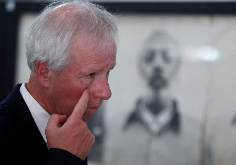 Canada's Foreign Minister Stephane Dion gestures during his visit to the Tuol Sleng Genocide Museum, also known as the notorious security prison S-21, in Phnom Penh, Cambodia September 2, 2016. REUTERS/Samrang Pring