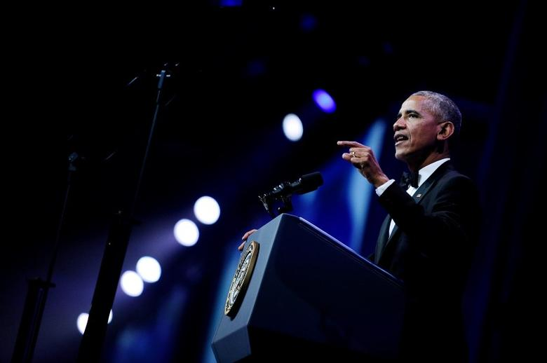 U.S. President Barack Obama addresses the 39th Annual Congressional Hispanic Caucus Institute Public Policy Conference and Annual Awards Gala, in Washington, U.S., September 15, 2016. REUTERS/Mary F. Calvert