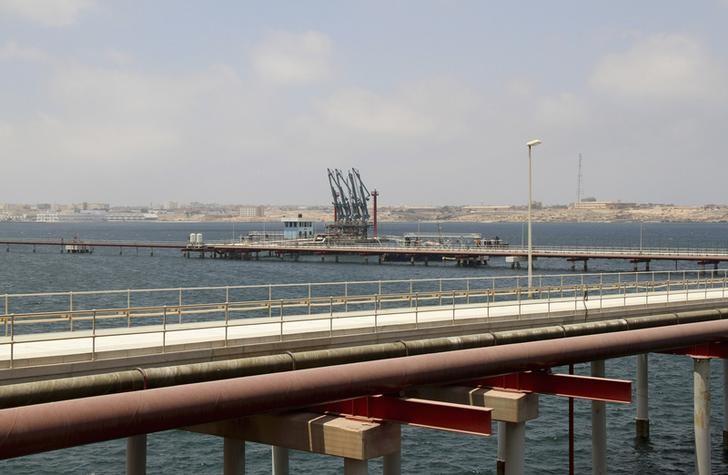 A general view of Libya's Hariga port in Tobruk, east of Benghazi June 28, 2014.  REUTERS/Stringer/Files