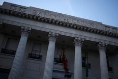 La tasa de morosidad de la banca española se situó en el 9,39 por ciento en julio, frente al 9,4 por ciento del mes anterior, mostraron el lunes datos del Banco de España. En la imagen de archivo, la fachada del banco de España en Málaga, el 1 de abril de 2016. REUTERS/Jon Nazca