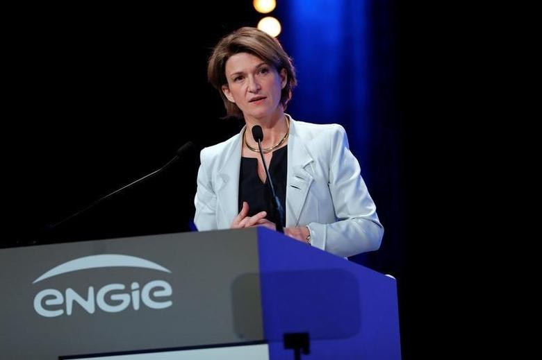 Isabelle Kocher, new Chief Exective Officer of French gas and power group Engie, attends the group shareholders general meeting in Paris, France, May 3, 2016. REUTERS/Benoit Tessier