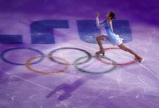 South Korea's Kim Yuna performs during the Figure Skating Gala Exhibition at the 2014 Sochi Winter Olympics February 22, 2014. REUTERS/David Gray