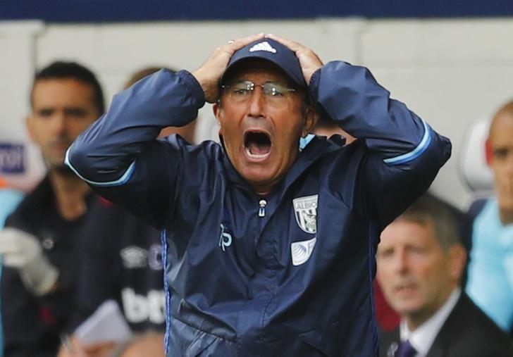 Football Soccer Britain - West Bromwich Albion v West Ham United - Premier League - The Hawthorns - 17/9/16West Bromwich Albion manager Tony Pulis Reuters / Eddie KeoghLivepic
