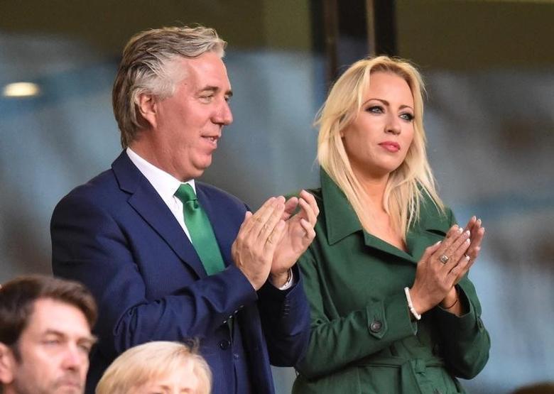 Football Britain Soccer - Republic of Ireland v Oman - International Friendly - Aviva Stadium, Dublin, Republic of Ireland - 31/8/16FAI Chief Executive John Delaney in the standsReuters / Clodagh KilcoyneLivepicEDITORIAL USE ONLY. - RTX2NQKA