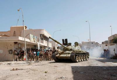 Battling Islamic State in Libya