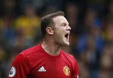 Britain Football Soccer - Watford v Manchester United - Premier League - Vicarage Road - 18/9/16 Manchester United's Wayne Rooney  Action Images via Reuters / Andrew Couldridge Livepic